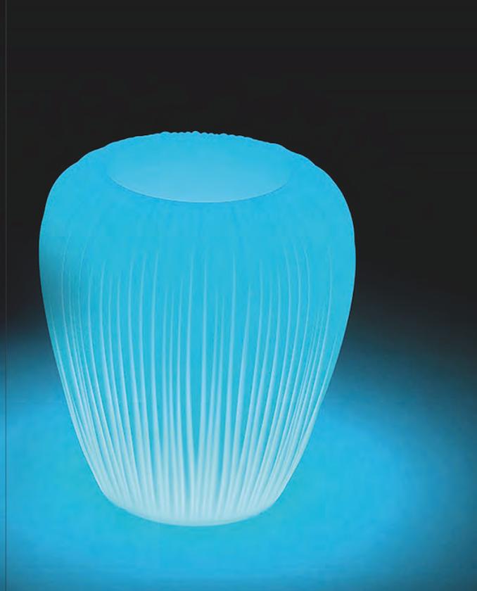 Maceteros iluminados Skin Pots para hostelería 4