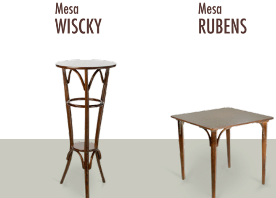 mesas curvados sanchis