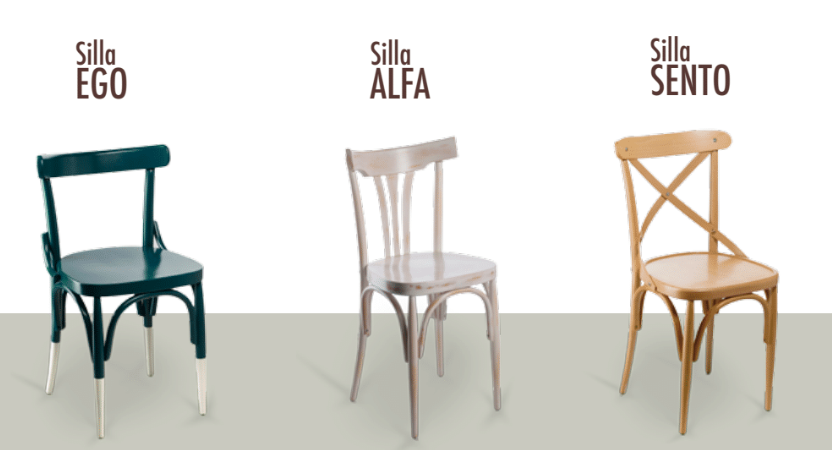 sillas curvados sanchis