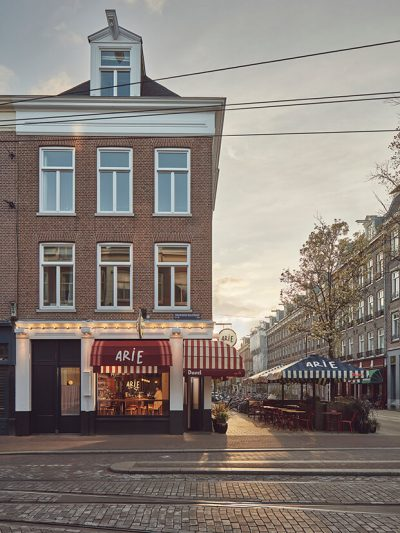 Arie Op de Hoek entrada mobiliario de hosteleria