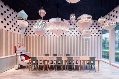 Loong Swim Clu mobiliario de hosteleria entrada