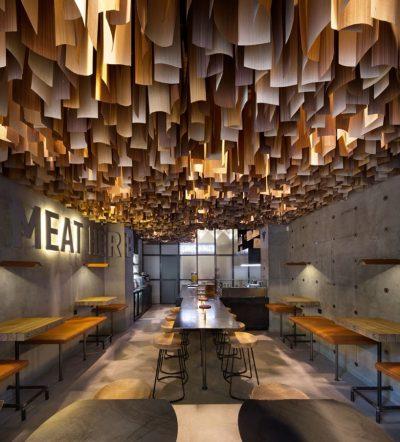 Shade Burger mobiliario de hosteleria
